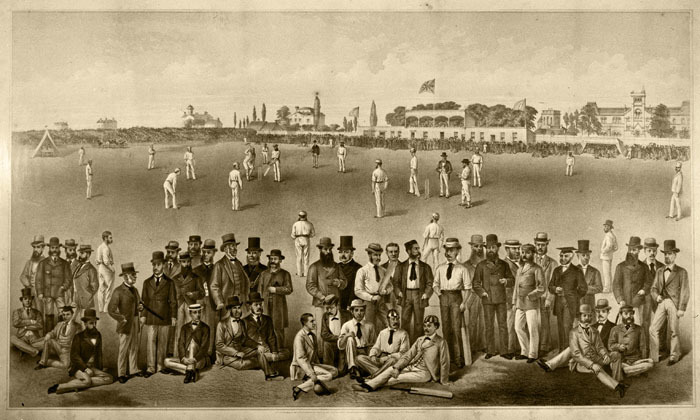 Gentlemen of England vs. Toronto Cricket Club, 1872
