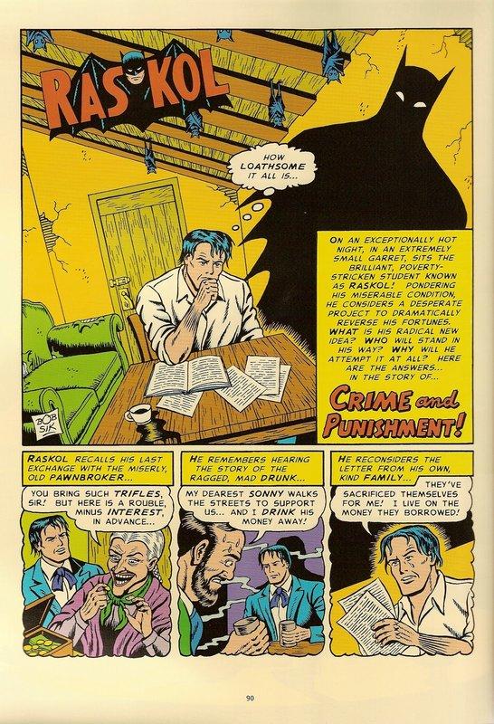 Dostoevsky Comics: Raskol