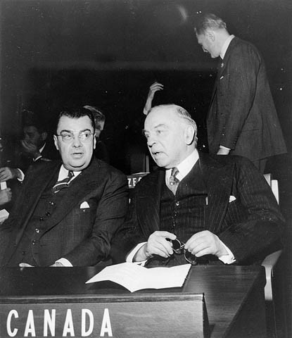 Paul Martin with Mackenzie King