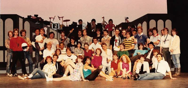 Cast, Crew and Band 1985