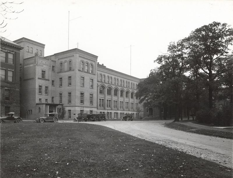 Newly Completed Electrical Building, 1921