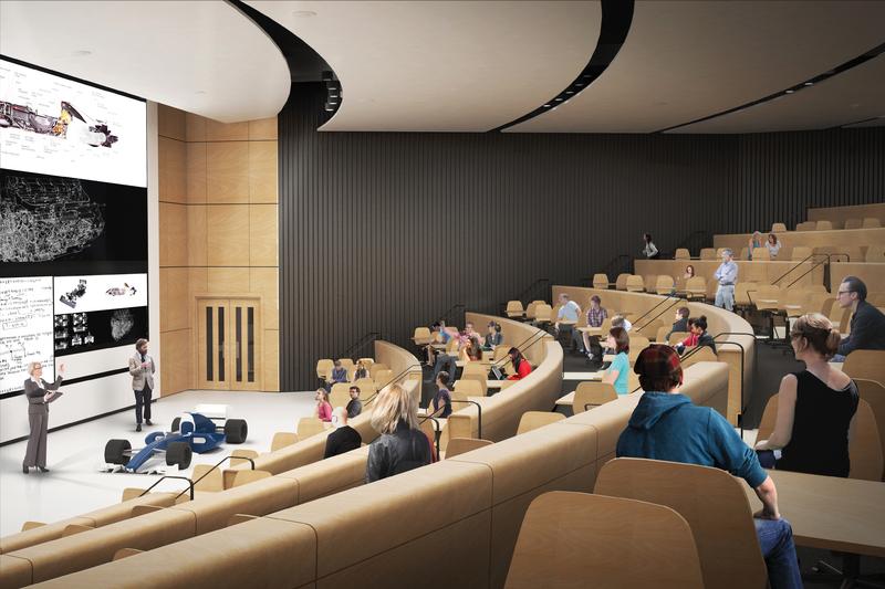 Auditorium of the new CEIE