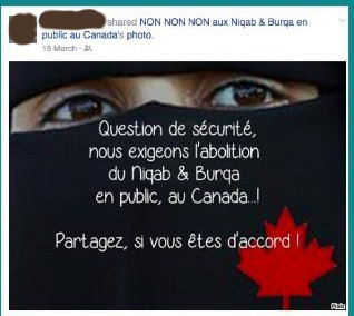 """No to Niqabs and Burkas"""