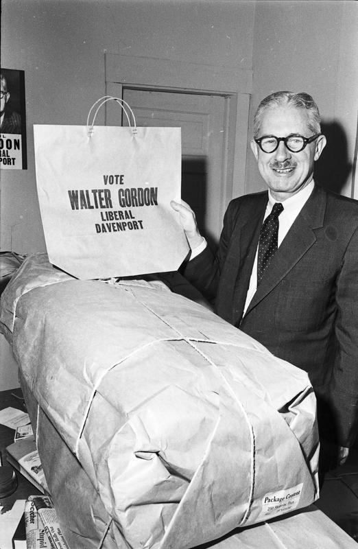 Walter Gordon : Liberal candidate