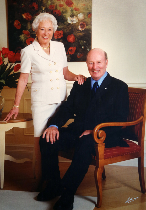 Portrait of John Bahen and Margaret Bahen