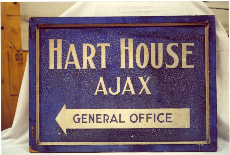 Hart House Sign, University of Toronto, Ajax Campus