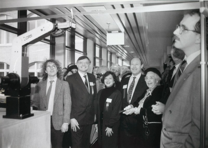 Official Opening of the D.L. Pratt Building, January 21, 1991