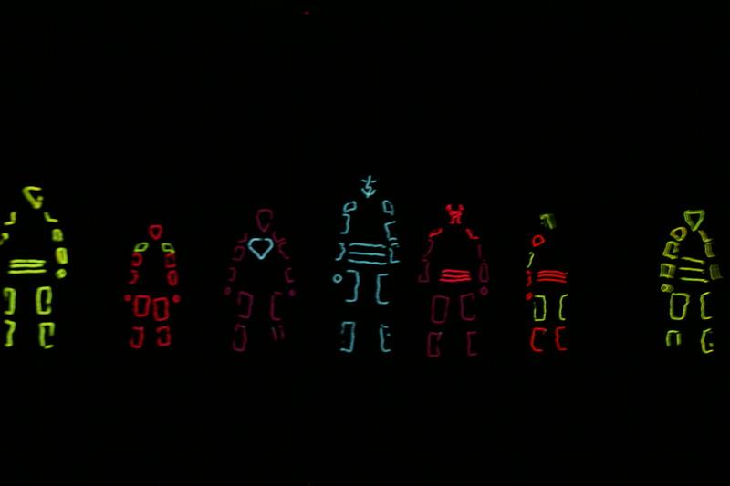Blacklight show 2012