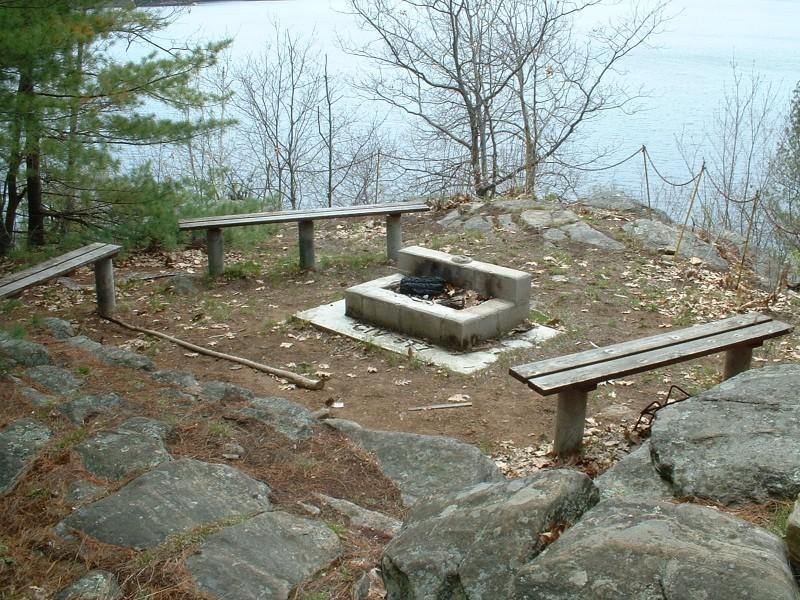 Point A, Gull Lake Survey Camp