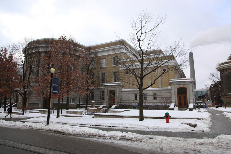Current View of the Sandford Fleming Building