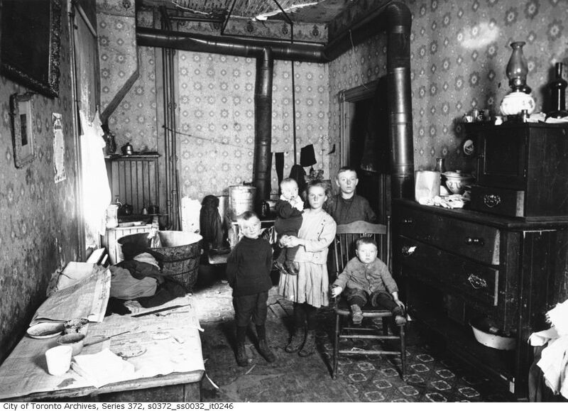 Slum interior, occupied - City of Toronto Archives, Fonds 200, Series 372, Subseries 32, Item 246