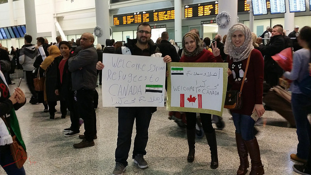 """First Syrian Refugee family landed in Toronto"""