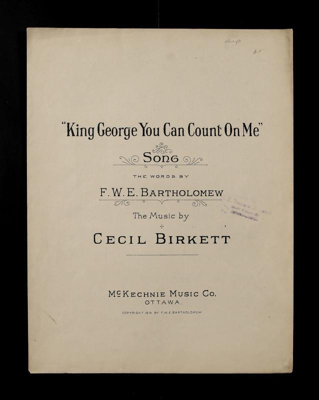 King George you can Count on Me