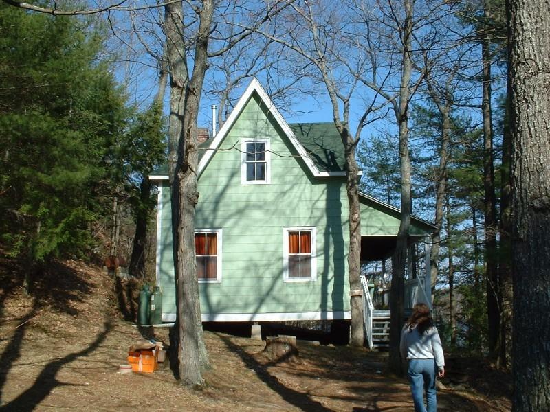 Staff Cottage, Gull Lake Survey Camp