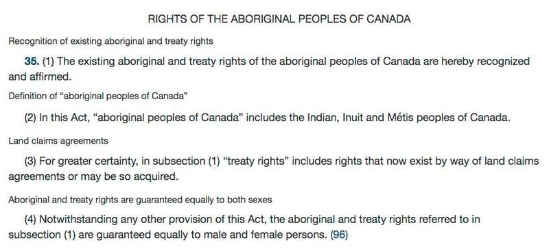 Sections 25 and 35 of the Canadian <em>Charter of Rights and Freedoms</em>