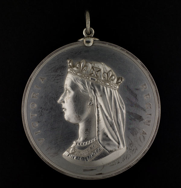 Indian Chiefs Medal, Presented to commemorate Treaty Numbers 3, 4, 5, 6, 7, 8 (Queen Victoria)