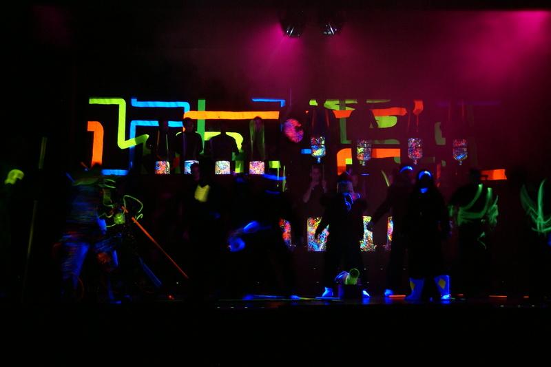 Blacklight show 2007
