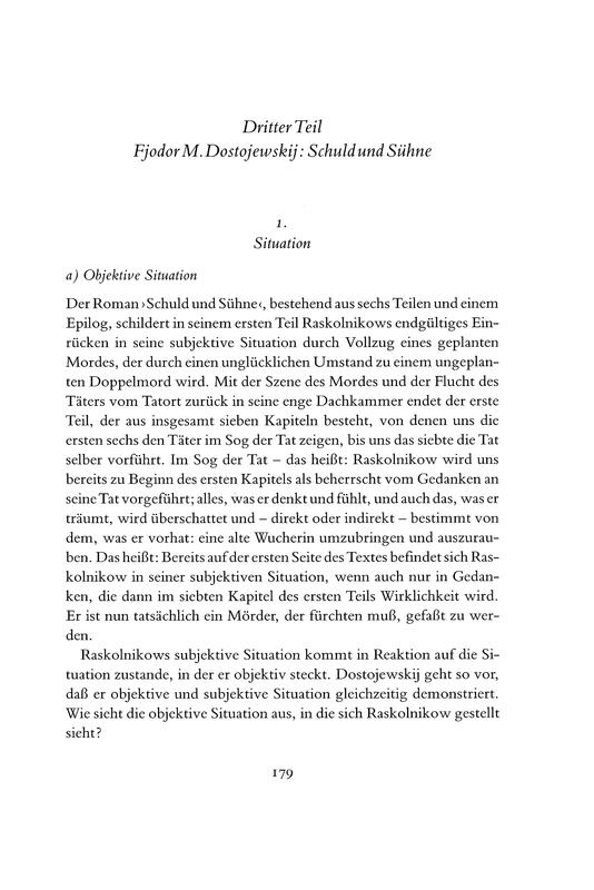 """Die Sache der Dichtung : dargestellt an Shakespeares """"Hamlet"""", Hölderlins """"Abendphantasie"""" und Dostojewskijs """"Schuld und Sühne"""""""