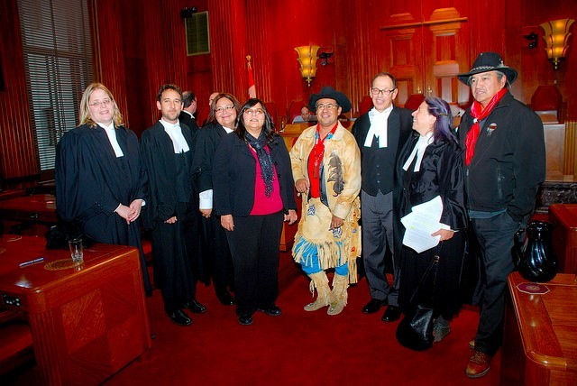 Team photo: Tsilhqot'in Nation v. British Columbia