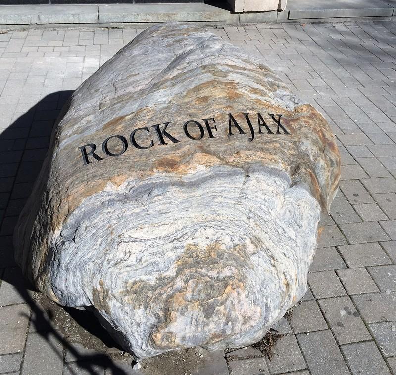 Rock of Ajax, Galbraith Building, University of Toronto