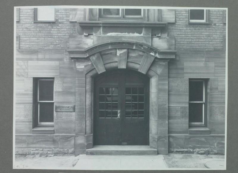 North Door of the Mechanical Building, 1928<br />