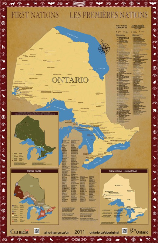 Ontario First Nations Map