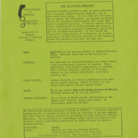 """What Is Online Searching?"", informational handout, 19 March 1976"