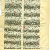 [Leaf from Summa theologica]