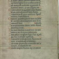 [Illuminated bifolia from Psalter]
