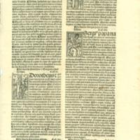 [Page from Catalogus sanctorum et gestorum eorum ex diversis voluminibus collectus]