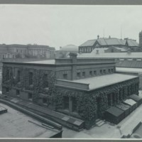 South East view of the Milling Building, 1930<br />