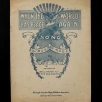 Returning home (sheet music)