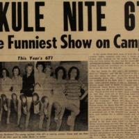 Skule Nite 1960