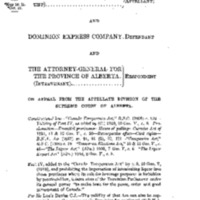 <em>Gold Seal Ltd. v. Alberta (Attorney-General)</em>, (1921), 62 S.C.R. 424