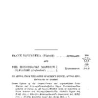 Roncarelli v. Duplessis, [1959] S.C.R. 121