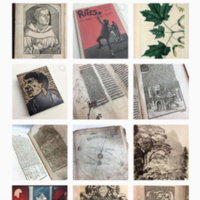 Thomas Fisher Rare Book Library's Instagram account