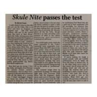 Skule Nite 8T0 - Review - 1980.02.29 - Varsity