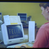 Felix: the First Online Catalogue at UTL
