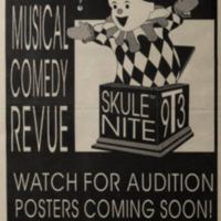 Skule Nite 1993 Advertisement