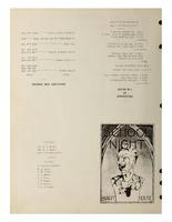 School Nite Program 1934
