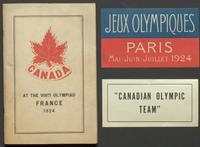 Memorabilia from the 8th Olympiad, Paris, 1924
