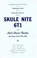 Skule Nite Program 1961