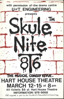 Skule Nite Program 1986