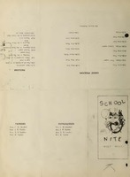 School Nite Program 1929