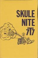 Skule Nite Program 1977