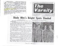Skule Nite 6T1 - Review - 1960.11.16 - Varsity