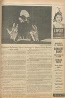 The Varsity's coverage of American poet Allen Ginsberg's performance at Convocation Hall in 1968