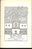 Skule Nite Program 1989