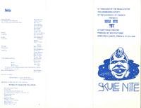 Skule Nite Program 1974