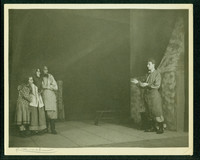 "Scene from hart House production of ""Michael"" photographed by a young Yousuf Karsh"